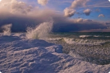 шторм на Байкале