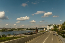 город Иркутск, вид на Ангару