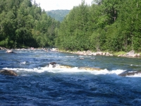 река Солзан, поход на Чертов палец