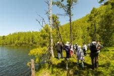 Экскурсия на Теплые озера, у подножия Хамар-Дабана